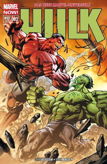 Hulk 3: Der Omega-Hulk schlägt wieder zu! - Das Cover
