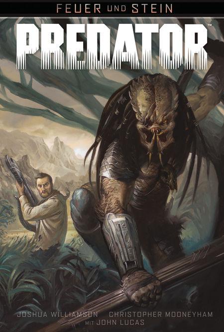Feuer und Stein 4: Feuer und Stein: Predator  - Das Cover