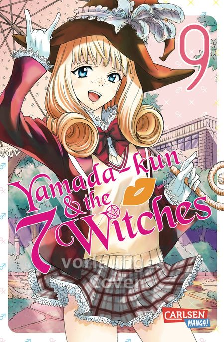 Yamada-kun and the 7 Witches 9 - Das Cover