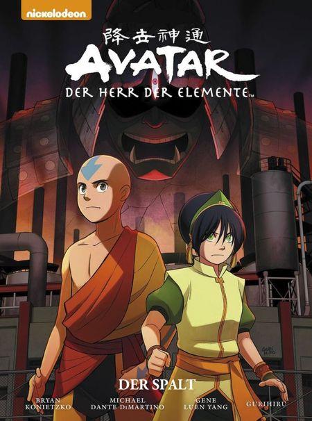 Avatar - Der Herr der Elemente: Premium 3: Der Spalt - Das Cover