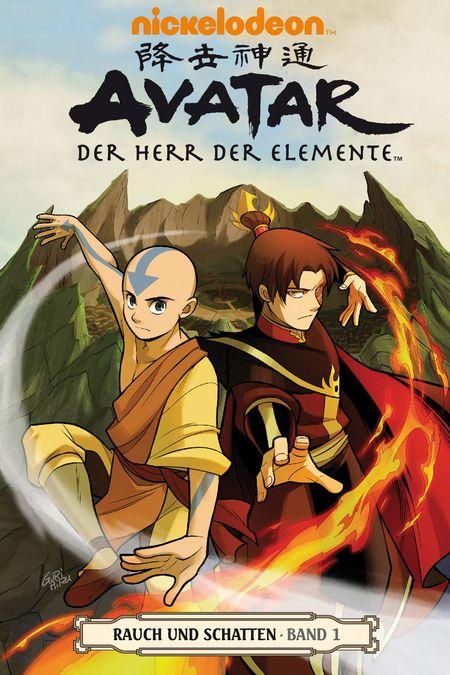 Avatar: Der Herr der Elemente 11: Rauch und Schatten 1 - Das Cover