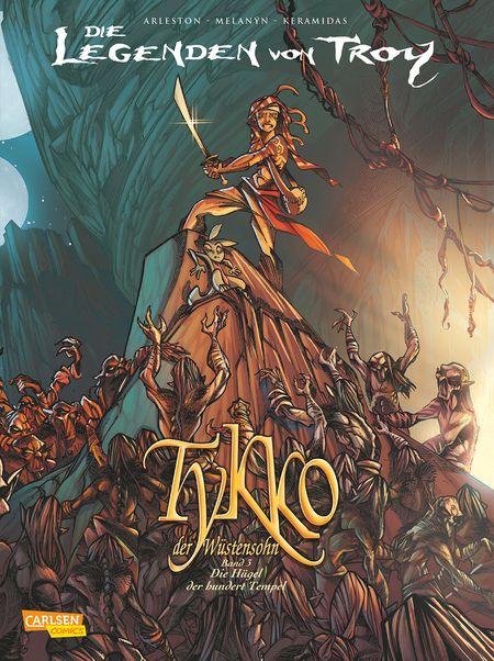 Tykko der Wüstensohn 3: Die Hügel der hundert Tempel - Das Cover