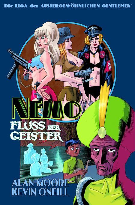Die Liga der Außergewöhnlichen Gentlemen: Nemo – Fluss der Geister - Das Cover