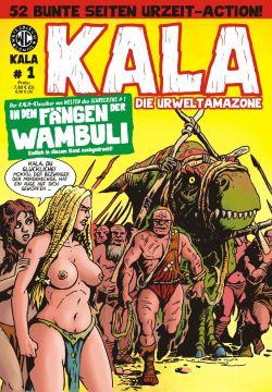 Kala 1: In den Fängen der Wambuli - Das Cover