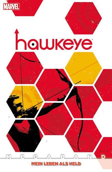 Hawkeye Megaband 2: Mein Leben als Held - Das Cover