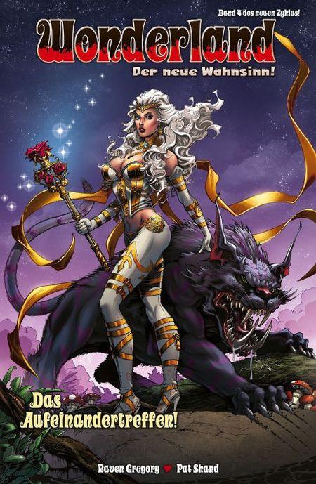 Wonderland – der Neue Wahnsinn 4: Das Aufeinandertreffen! - Das Cover