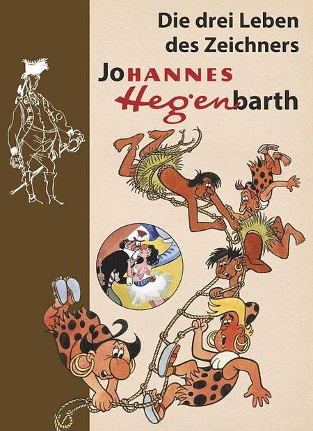 Die drei Leben des Zeichners Johannes Hegenbarth - Das Cover