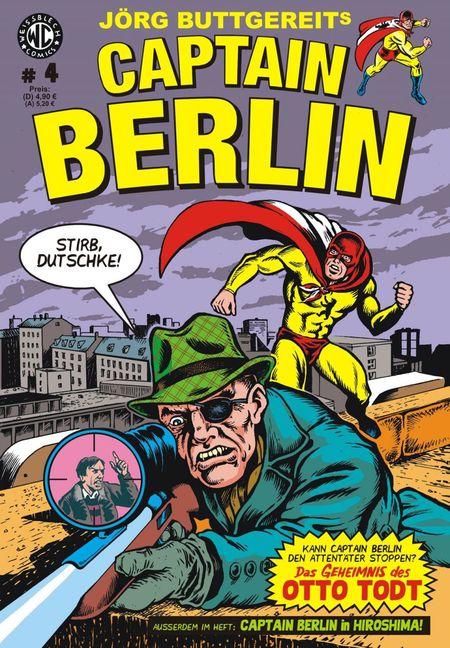 Captain Berlin 4 - Das Cover