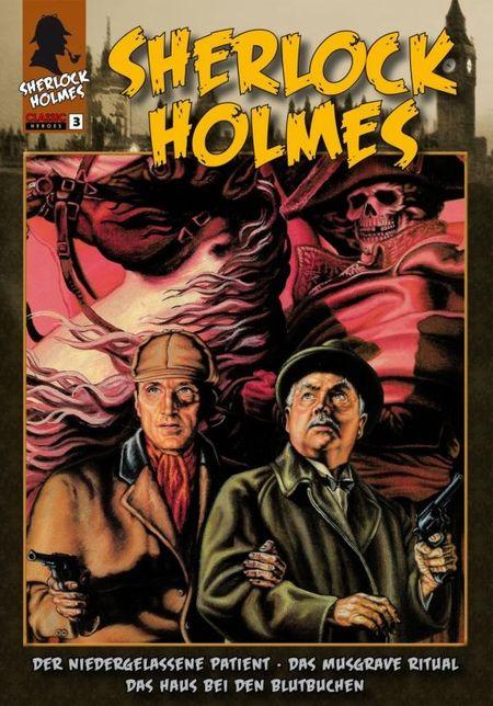 Sherlock Holmes - Band 3 - Das Cover