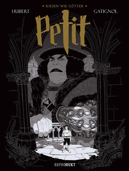 Petit: Riesen wie Götter - Das Cover