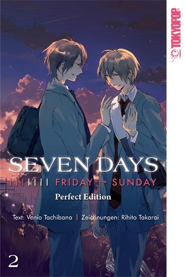 Seven Days Perfect Edition 2: Freitag - Sonntag - Das Cover