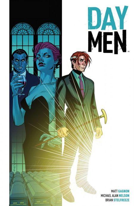 Day Men Bd. 1: Lux In Tenebris - Das Cover