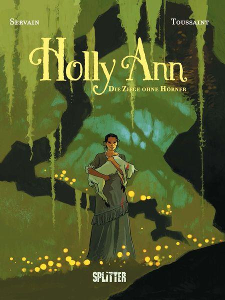 Holly Ann 1: Die Ziege ohne Hörner - Das Cover