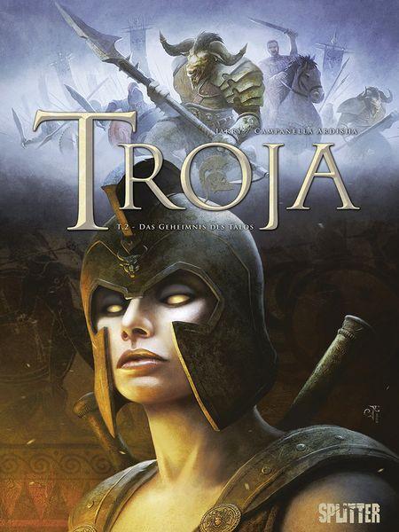 Troja 2: Das Geheimnis des Talos - Das Cover