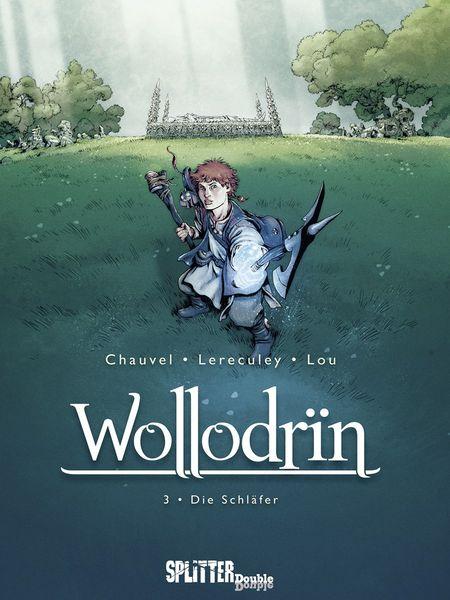 Wollodrin 3: Der Schläfer - Das Cover