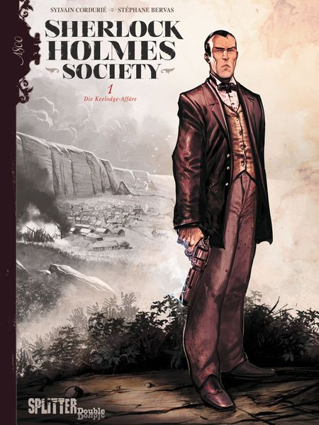 Sherlock Holmes Society 1: Die Keelodge Affäre - Das Cover