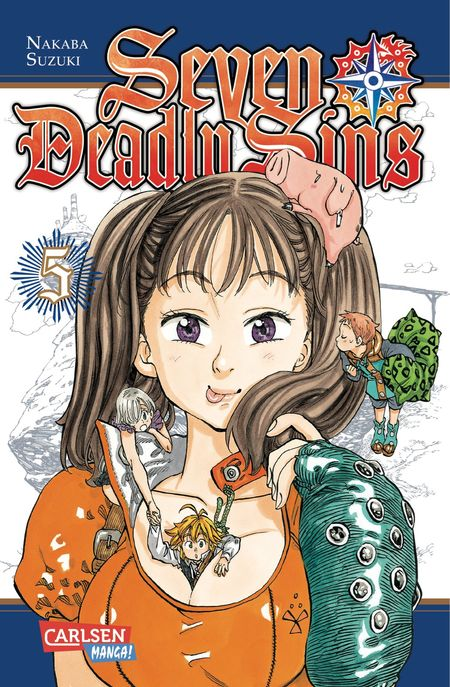 Seven Deadly Sins 5 - Das Cover
