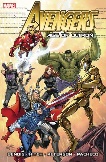 Avengers: Age of Ultron Paperback - Das Cover