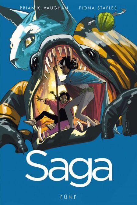 Saga 5 - Das Cover