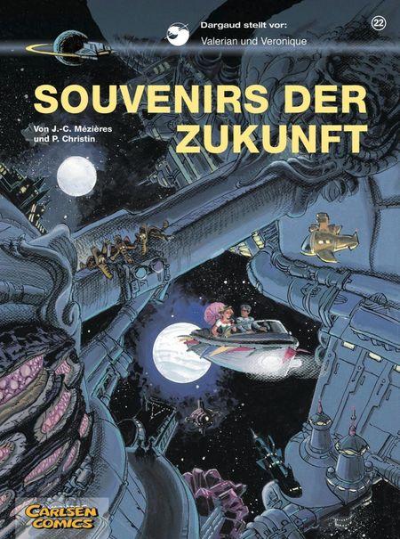 Valerian und Veronique: Souvenirs der Zukunft - Das Cover