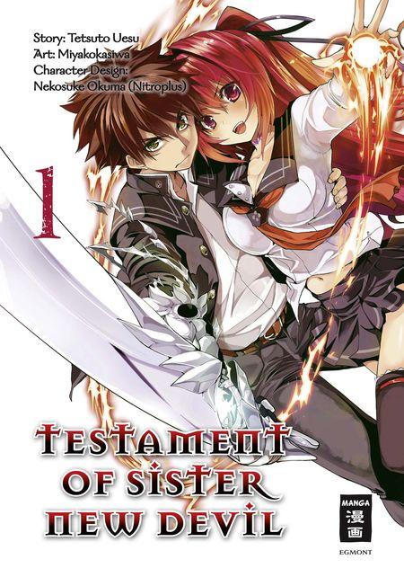 Testament of Sister New Devil 1 - Das Cover