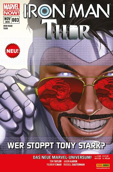 Iron Man/Thor 3 - Das Cover
