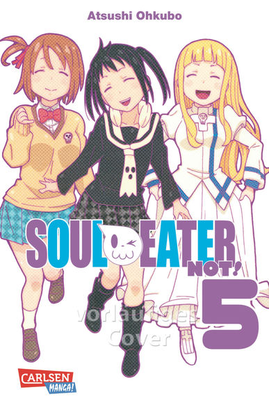 Soul Eater NOT! 5 - Das Cover