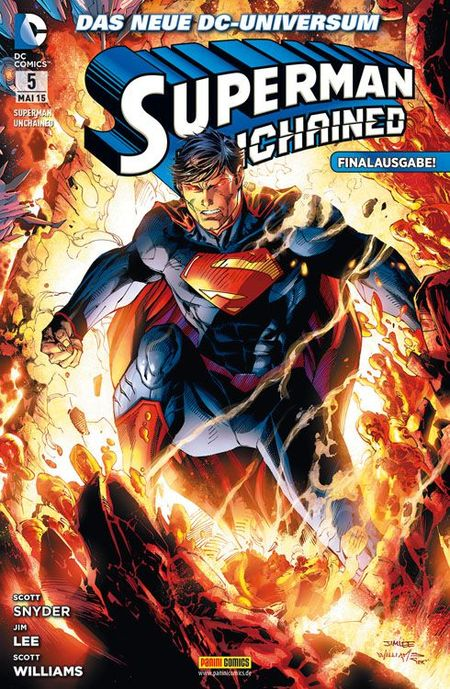 Superman: Unchained 5 - Das Cover