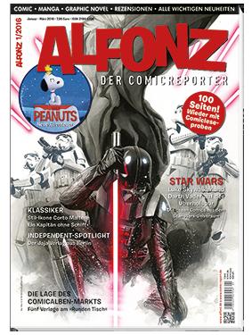 Alfonz 1/2016 - Das Cover