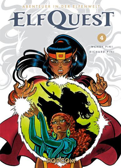 Abenteuer in der Elfenwelt: ElfQuest 4 - Das Cover