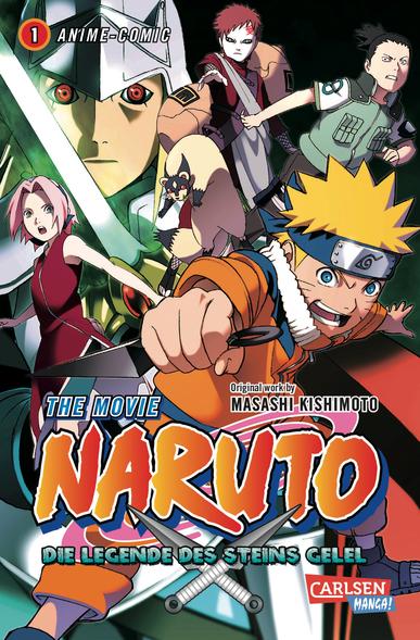 Naruto The Movie: Die Legende des Steins Gelel 1 - Das Cover