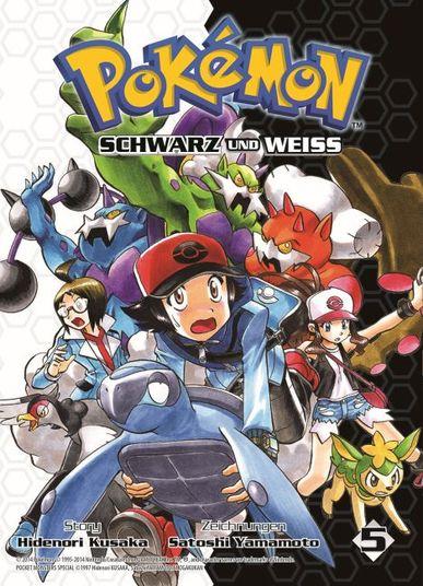 Pokémon SCHWARZ und WEISS 5 - Das Cover