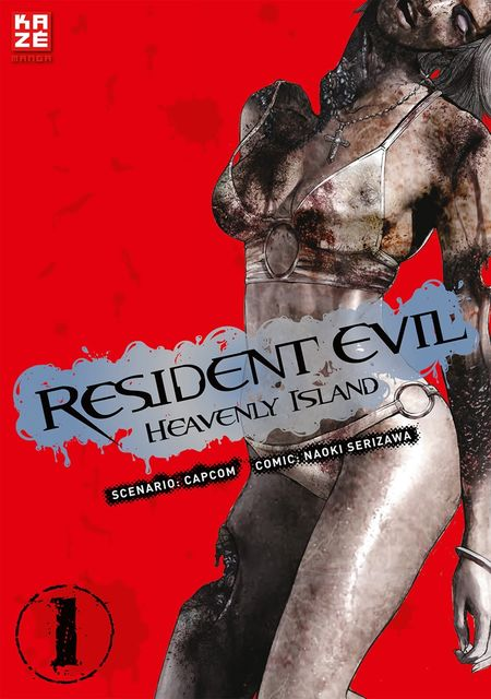 Resident Evil: Heavenly Island 1 - Das Cover