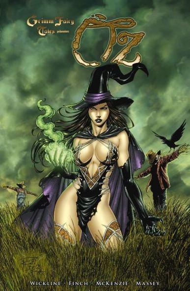 Grimm Fairy Tales präsentiert OZ 2 - Das Cover