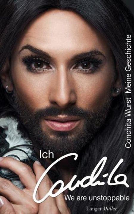 Ich, Conchita - meine Geschichte. We are unstoppable. - Das Cover