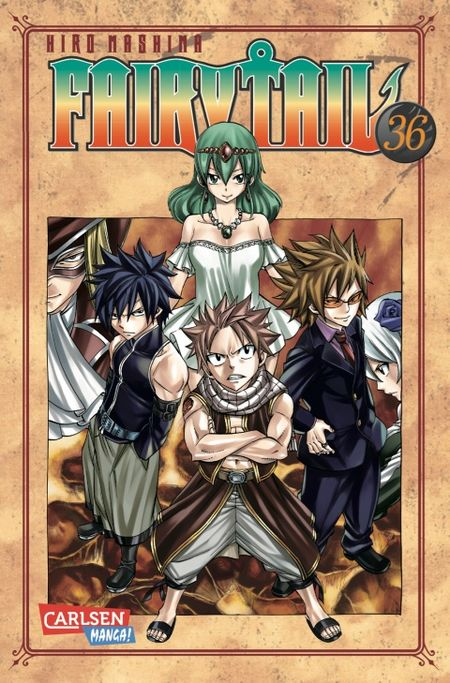Fairy Tail 36 - Das Cover