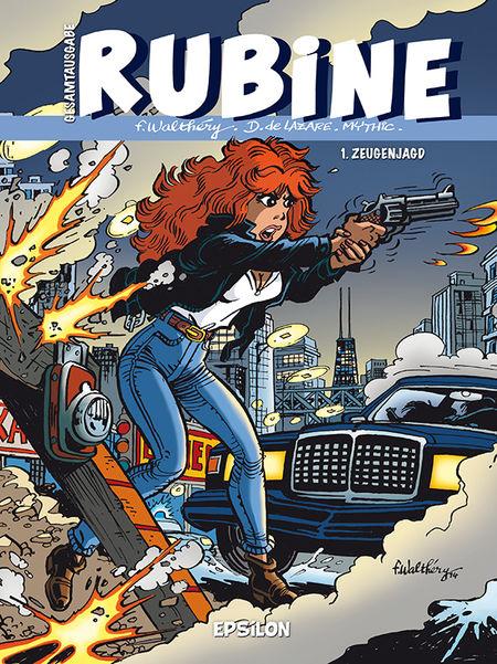 Rubine Gesamtausgabe 1: Zeugenjagd - Das Cover