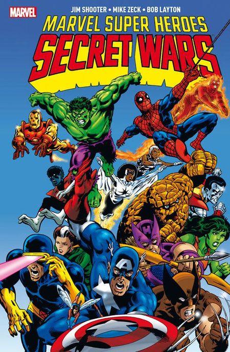 Marvel Super Heroes: Secret Wars - Das Cover