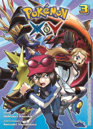 Pokémon Y und X 3 - Das Cover