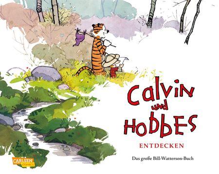 Calvin und Hobbes entdecken: Das große Bill-Watterson-Buch - Das Cover