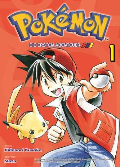 Pokémon: Die ersten Abenteuer 1 - Das Cover