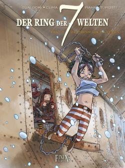 Der Ring der 7 Welten: Die Piraten von Heliopolis - Das Cover