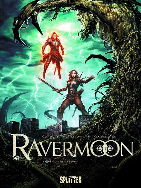 Ravermoon 3: Verzehrendes Feuer - Das Cover