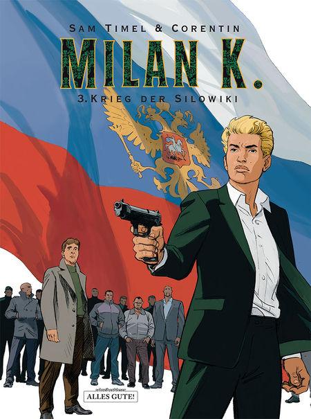 Milan K. 3: Krieg der Silowiki - Das Cover