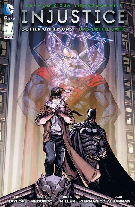 Injustice: Götter unter uns - Das dritte Jahr 1 - Das Cover