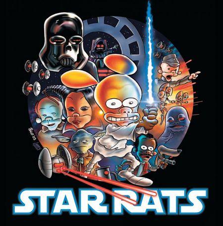 Star Rats Episode IV: Eine schwache Hoffnung - Das Cover