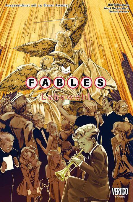 Fables 26 - Das Cover
