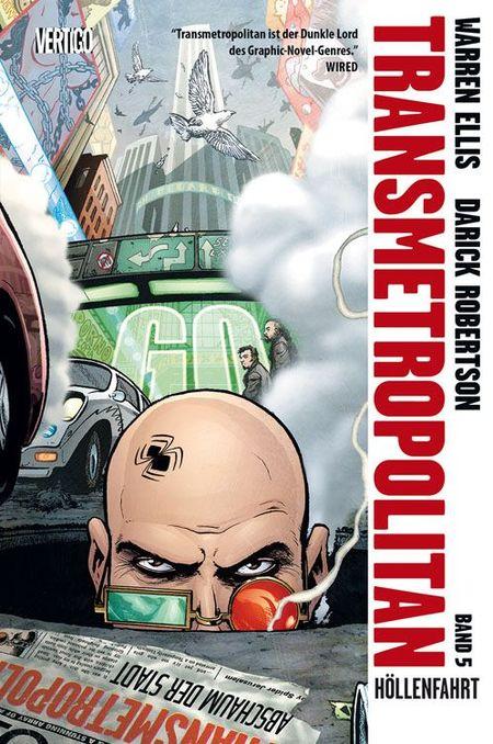 Transmetropolitan 5 - Das Cover