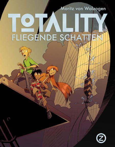 Totality – Fliegende Schatten - Das Cover