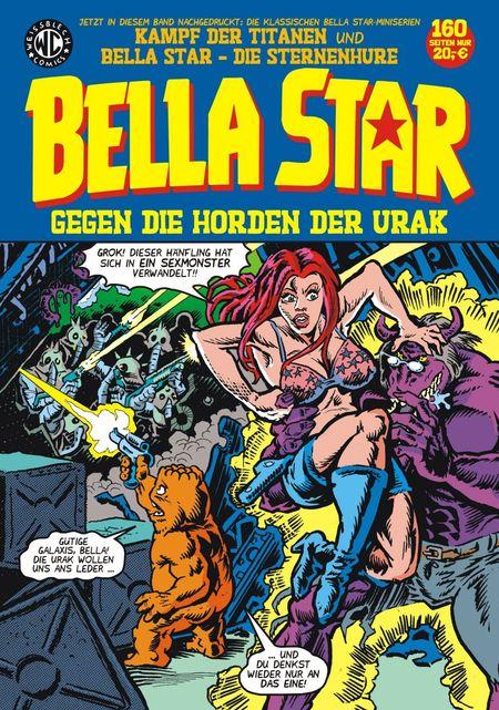 Bella Star gegen die Horden der Urak - Das Cover